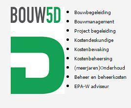 Bouw-5d- erkend deskundige voor het woning energielabel. Alles over deze en meer dan 500 andere erkend deskundigen op EnergieDeskundig.nl!