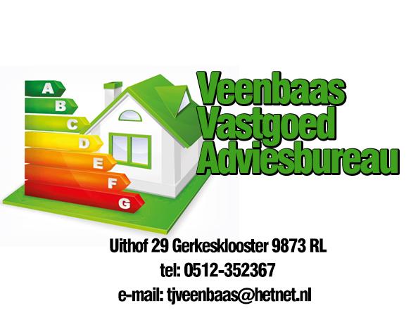 Veenbaas Vastgoed Adviesbureau- erkend deskundige voor het woning energielabel. Alles over deze en meer dan 500 andere erkend deskundigen op EnergieDeskundig.nl!